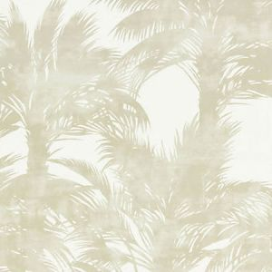 GW 0001 16610 PALM PRINT Sand Scalamandre Fabric