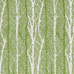 GW 0002 27205 BIRCH WEAVE Spring Green Scalamandre Fabric