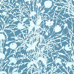GW 000516623 WILDFLOWER Blueprint Scalamandre Fabric