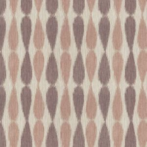 GWF-2927-10 IKAT DROPS Lilac Groundworks Fabric
