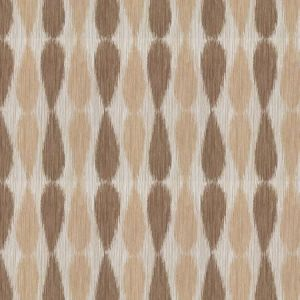 GWF-2927-116 IKAT DROPS Taupe Groundworks Fabric