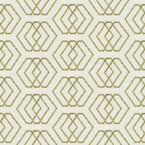 GWF-3314-130 KYOTO SHRINE Ivory Lime Groundworks Fabric