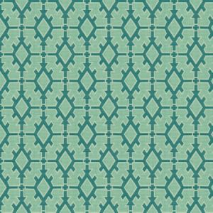 GWF-3329-53 TIGGER Teal Groundworks Fabric