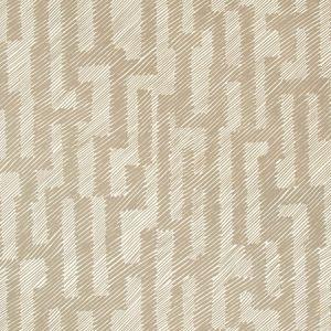 GWP-3702-116 VERGE PAPER Craft Ivory Groundworks Wallpaper