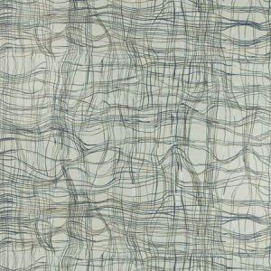 ENTANGLE PAPER Mist Groundworks Wallpaper