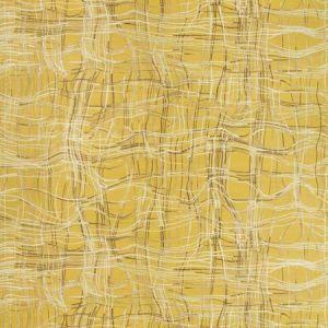 ENTANGLE PAPER Mustard Groundworks Wallpaper