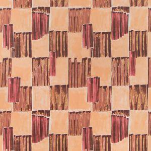 GWP-3722-119 LYRE PAPER Fiery Groundworks Wallpaper