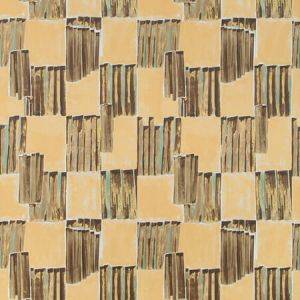 GWP-3722-166 LYRE PAPER Bronzed Groundworks Wallpaper