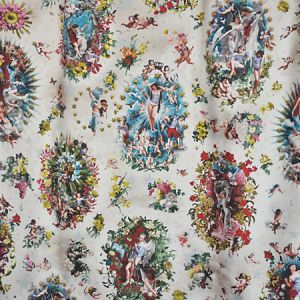 H0 00013445 ANGELOTS Ecarlate Scalamandre Fabric