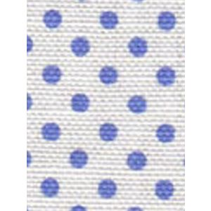 2130-06 HAMPTON French Blue on White Custom Only Quadrille Fabric