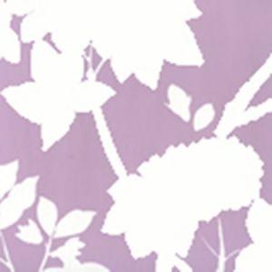 306184W HAPPY GARDEN BACKGROUND Lavender On White Quadrille Wallpaper