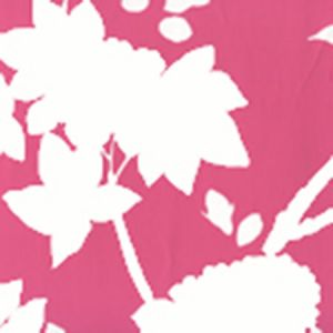 306187W HAPPY GARDEN BACKGROUND Magenta On White Quadrille Wallpaper