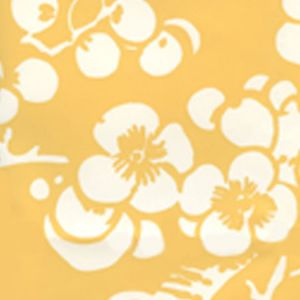 301-02AWP HAWTHORNE REVERSE New Ochre On Almost White Quadrille Wallpaper