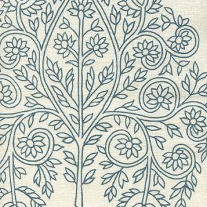 HC1480P-03WP TAJ Navy On Off White Quadrille Wallpaper