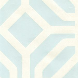 HC1520P-15 LABYRINTH Twlight On Almost White Quadrille Wallpaper