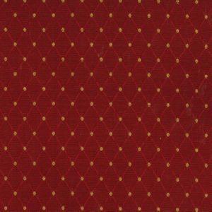 DUNBAR Red Norbar Fabric