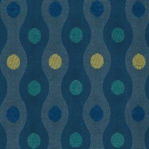 SERENADE Blue Marine Norbar Fabric