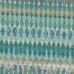 TAZMANIA Turquoise Norbar Fabric