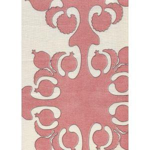 HC2000C-03 ARGENTINE Corals Brown on Cream Quadrille Fabric