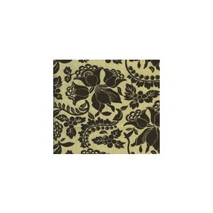 HC1300T-07 ARIEL Brown on Tan Quadrille Fabric