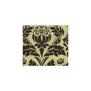 HC1290T-07 CHELSEA Brown on Tan Quadrille Fabric