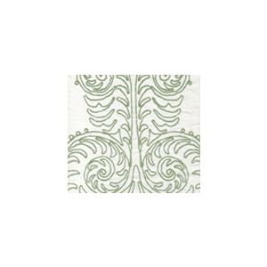 HC1230W-10 GYPSY DANCE Celadon on Off White Quadrille Fabric