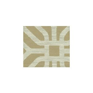 HC1520-03 LABYRINTH Beige Quadrille Fabric