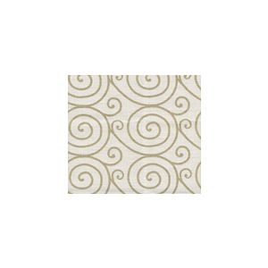 HC1470L-07M MEDITATION Gold Metallic on Oyster Quadrille Fabric