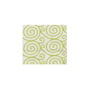 HC1470L-02 MEDITATION Lime on Oyster Quadrille Fabric