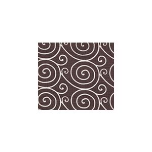 HC1475-08 MEDITATION REVERSE  Brown on Oyster Quadrille Fabric