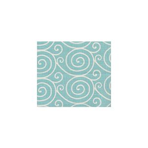 HC1475-05 MEDITATION REVERSE  Turquoise on Oyster Quadrille Fabric