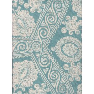 HC1910B-01 MELANIE BACKGROUND Celeste on Tint Quadrille Fabric