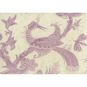 306203F PARADIS Lavender on Tint Quadrille Fabric