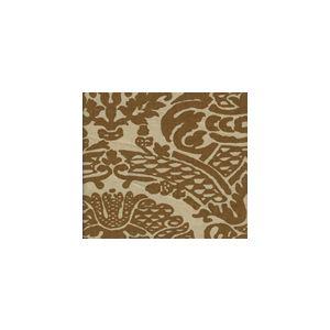 HC1280T-05 PRINCIPESSA Cognac on Tan Quadrille Fabric