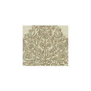 HC1480TUS-02 TAJ Tobacco on Silk Tussah Quadrille Fabric