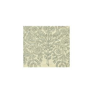 HC1480C-01 TAJ Vapor on Cream Linen Quadrille Fabric