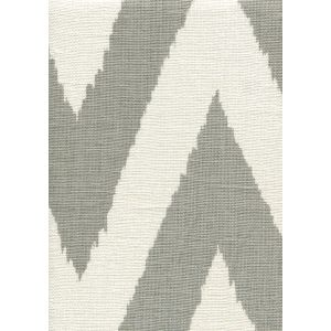302512F TASHKENT Grey on Oyster Quadrille Fabric