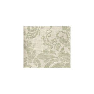 302310F-CU VICTORIA French Green on Tint Quadrille Fabric