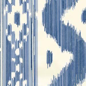 2020-01OWP BALI HAI Blues On Off White Quadrille Wallpaper