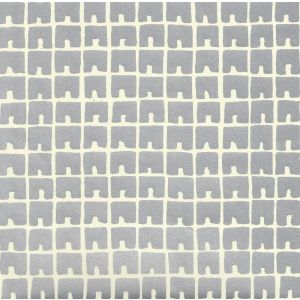 4045-06WP FEZ II Silver Metallic Off White Quadrille Wallpaper