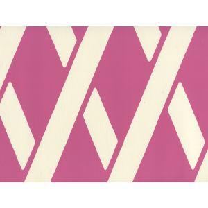 CP1050W-03 MONTECITO BAMBOO Flamingo On Off White Quadrille Wallpaper