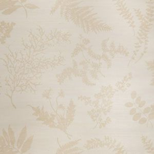 WILDFLOWERS SISAL Sand On Oyster Stroheim Wallpaper