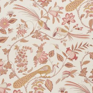 175955 CAMPAGNE Rose Ochre Schumacher Fabric