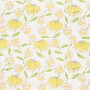 177851 BOUQUET TOSS Pink Lemonade Schumacher Fabric