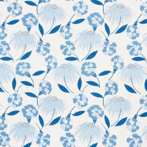 177852 BOUQUET TOSS Afternoon Blue Schumacher Fabric