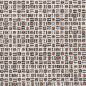 177860 MOTTLEY GRID Wren Schumacher Fabric