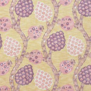177991 ANNABEL WARP PRINT Gold Schumacher Fabric