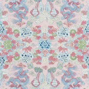 178051 MAGIC MOUNTAIN DRAGON Blush Schumacher Fabric