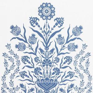 178090 IZNIK SHEER Blue Schumacher Fabric