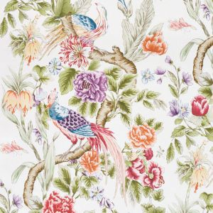 178160 MAJESTIC GARDEN Document Schumacher Fabric